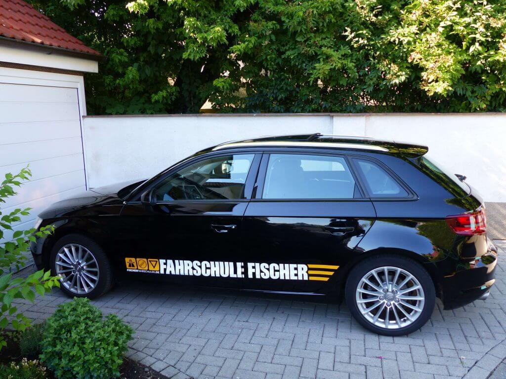 Audi A3 Sportback der Fahrschule Fischer